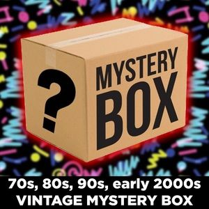 Other - $25 VINTAGE CLOTHING MYSTERY BOX! ALL SIZES!